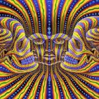 illusione ottica delle 7 facce