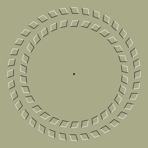 immagine illusione visiva