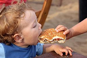 pubblicità cibo bambini