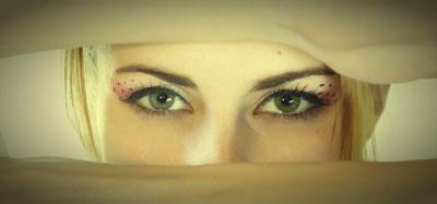 occhi e pupille dilatate
