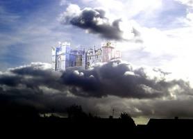 castello tra le nuvole