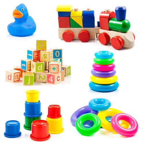Giocattoli utili per mantenere l'attenzione del tuo bambino