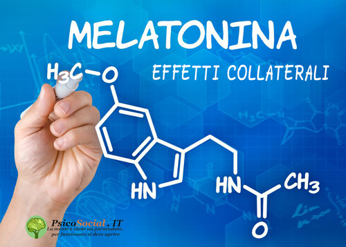 Melatonina effetti collaterali