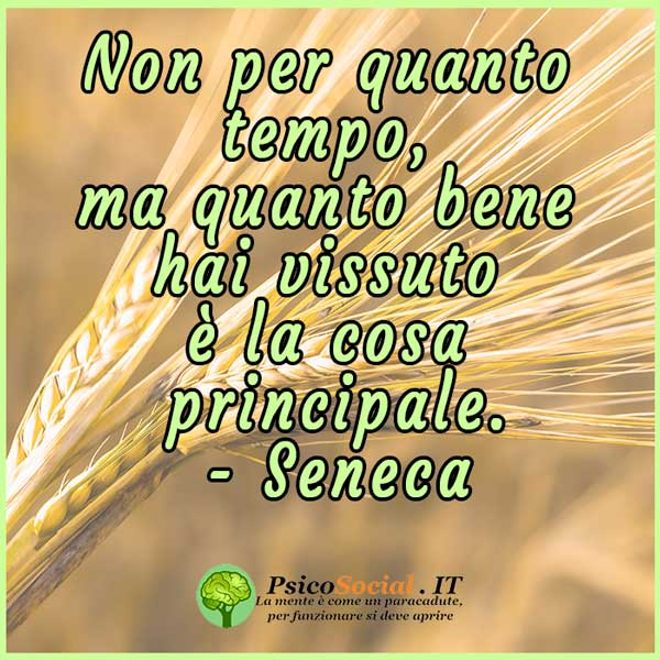 Frasi sulla vita Seneca