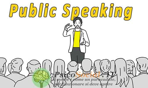 Public speaking cos'è