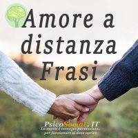 Frasi amore a distanza
