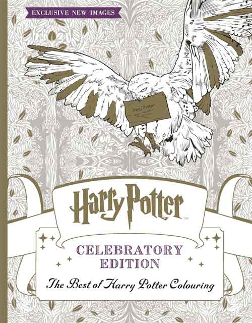Libro di Harry Potter da colorare antistress adulti