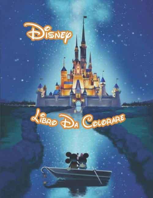 Disney album da colorare adulti