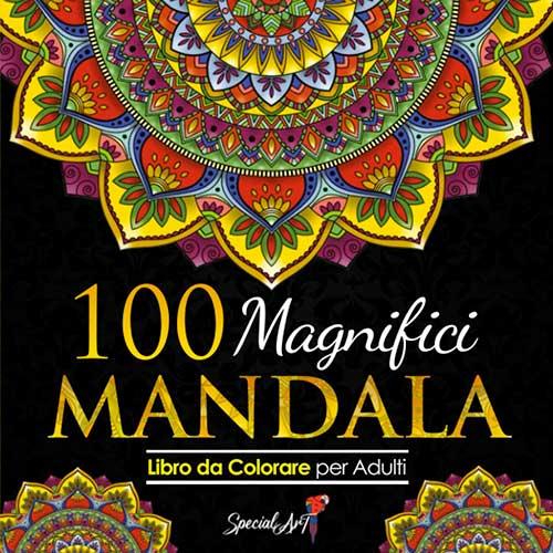 Libri da colorare per adulti Mandala