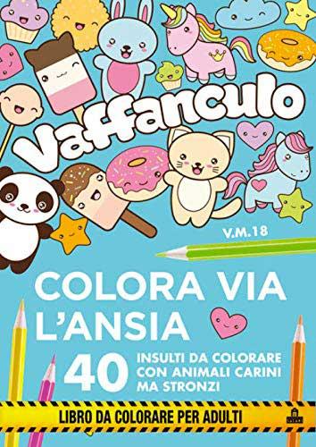 Libro da colorare adulti parolacce